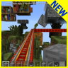 Roller coaster for Minecraft NEW APK