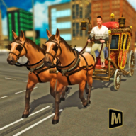 Mounted Horse Transport Carriage Taxi APK