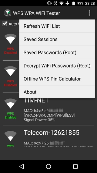 WPS WPA WiFi Tester APK 21 0 - download free apk from APKSum