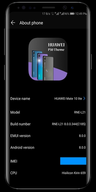 P30 Black Theme APK 2 5 - download free apk from APKSum