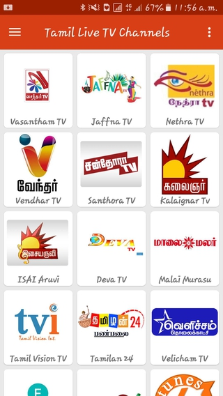 Tamil Live TV Channels APK 6 0 0 - download free apk from APKSum