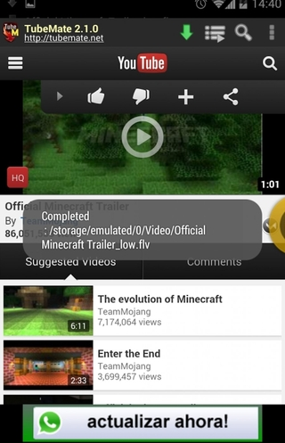 descargar apk de youtube para android 2.3.6