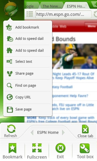 Dolphin Browser Mini APK 2 5 - download free apk from APKSum
