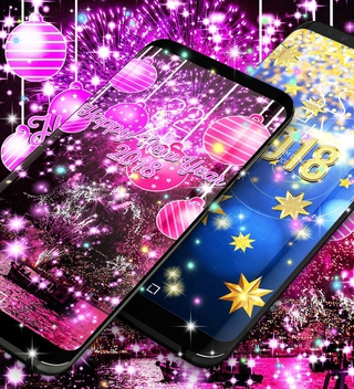 happy new year 2018 live wallpaper 94 apk screenshot