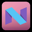 Android N Dark theme APK