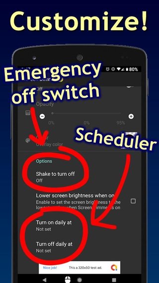 Screen Dimmer Apk 1 4 4 Release Download Free Apk From Apksum