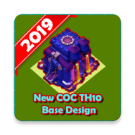 Base Design of Clash of Clans TH10 APK