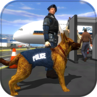 Police Dog Airport Crime Chase APK
