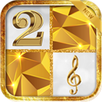 Golden Piano Tiles Magic APK