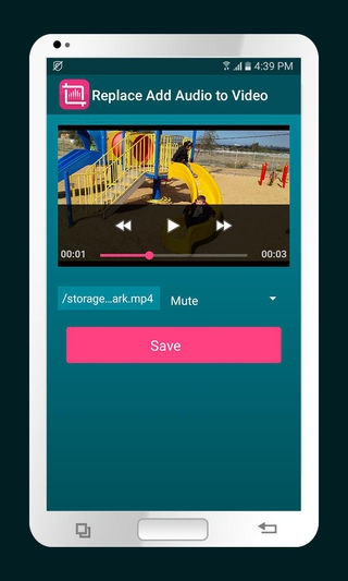 Replace Add Audio to Video APK 3 3 - download free apk from