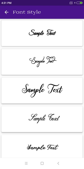 Download Font Style APK 1.13 - download free apk from APKSum