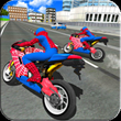 Bike Super Hero Stunt Driver Simulator APK