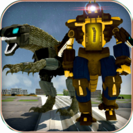 Dino Robot Transformation APK