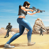 Spectra cover fire: offline shooting - fps shooter APK