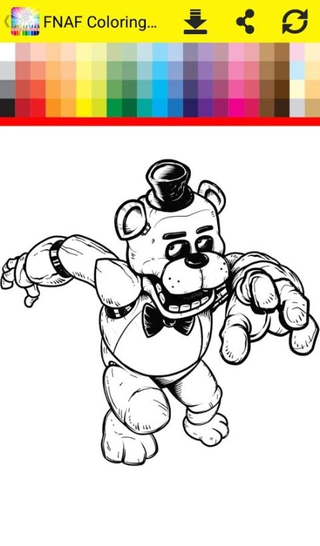 FNAF Coloring Book 17 Apk Screenshot