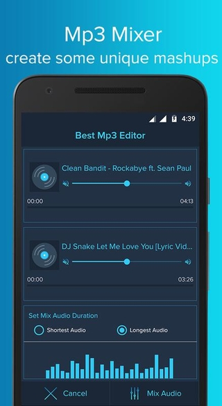 Best Mp3 Editor APK 1 0 25 - download free apk from APKSum