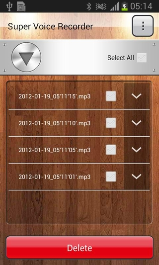 Super Voice Recorder APK 1 4 10 - download free apk from APKSum
