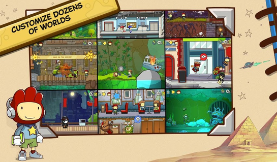 Scribblenauts Unlimited 1.02 apk screenshot