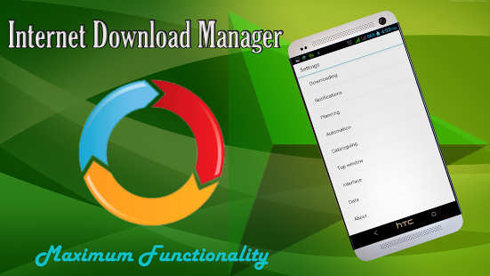 internet download manager android apk