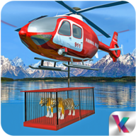 Wild Animal Rescue: Helicopter APK