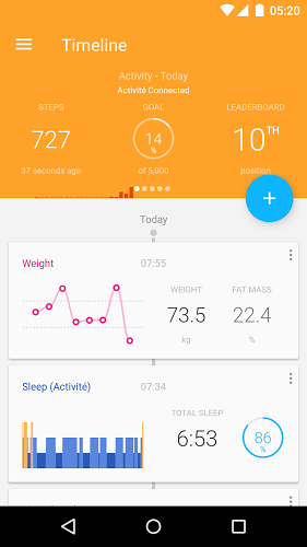 Withings 3.6.0 apk screenshot