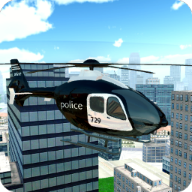Police Helicopter City Flying APK