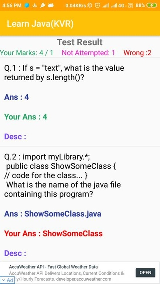 Learn Java(KVR) APK 2 0 4 - download free apk from APKSum