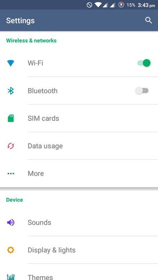 XUI CM12 Theme 1.4 apk screenshot