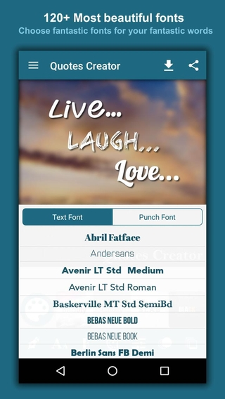 Quotes Creator APK 1 38 - download free apk from APKSum